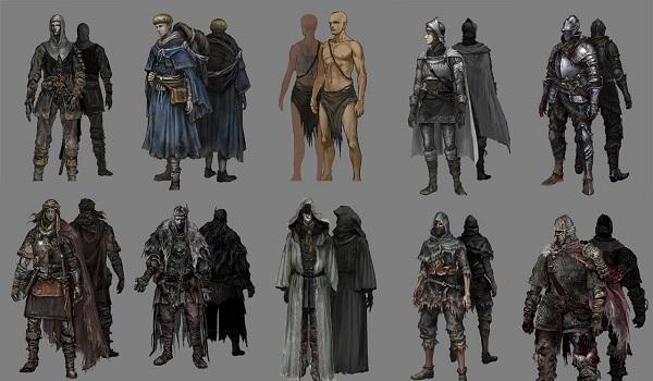 Classes em Dark Souls III